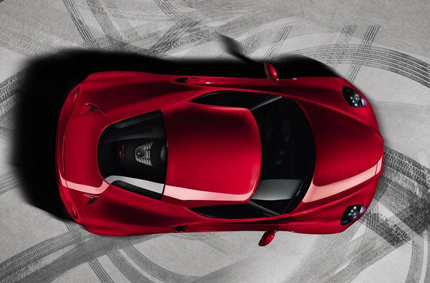 Alfa Romeo 4C panorama