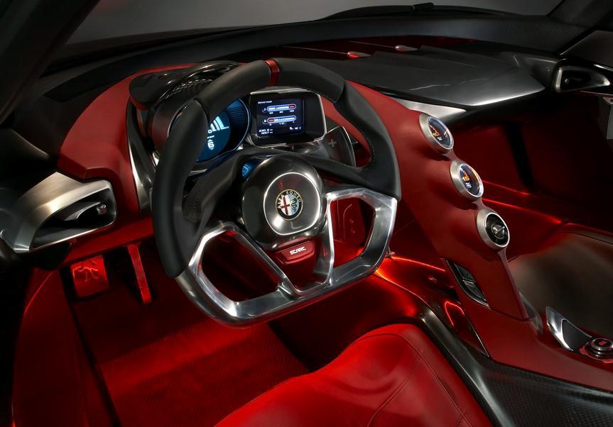 Interior Alfa Romeo 4C