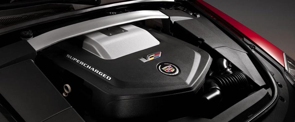 Cadillac ATS-V motorizare