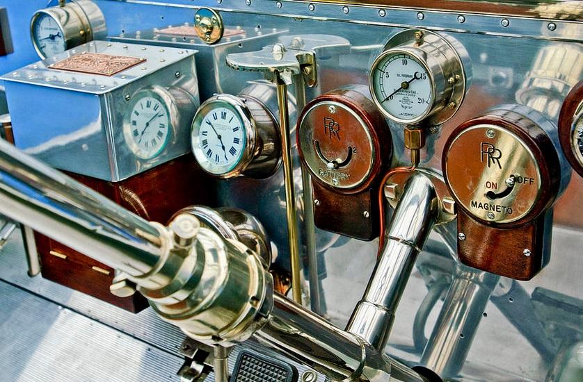 Rolls-Royce Silver Ghost - bord