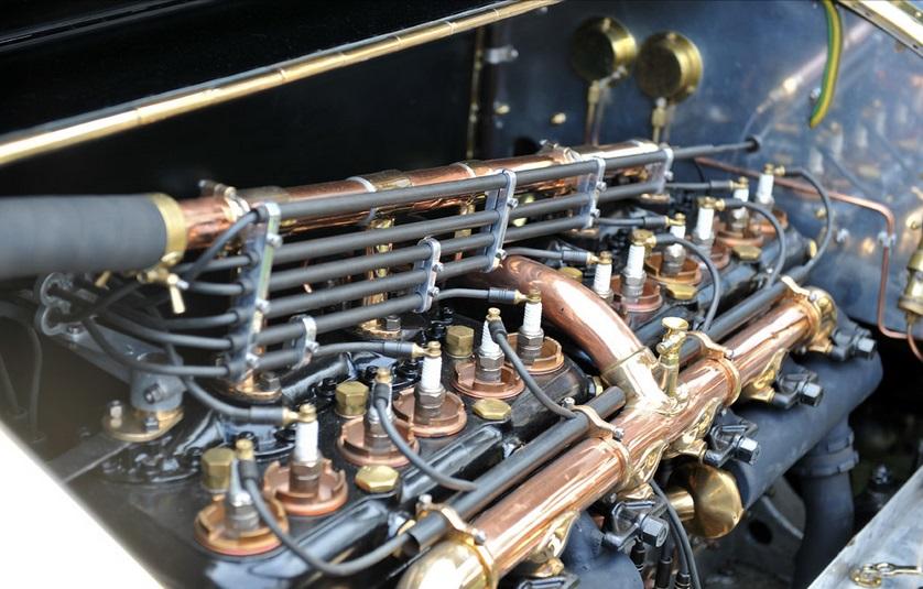 Rolls-Royce Silver Ghost - motor