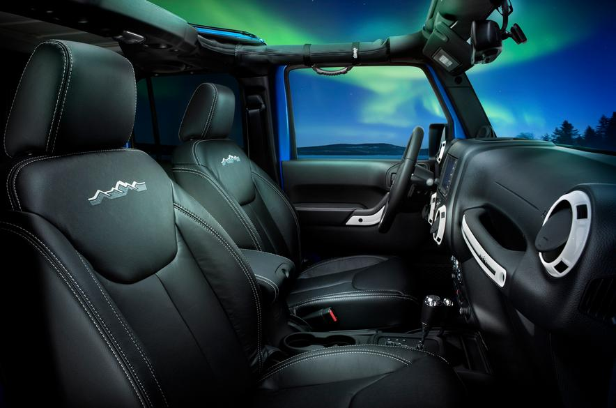 Interior Jeep Wrangler