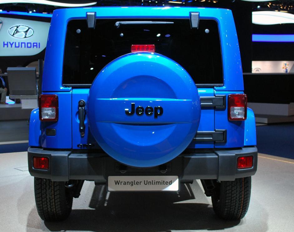 Spate Jeep Wrangler