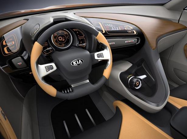 Interior Kia GT4 Stinger