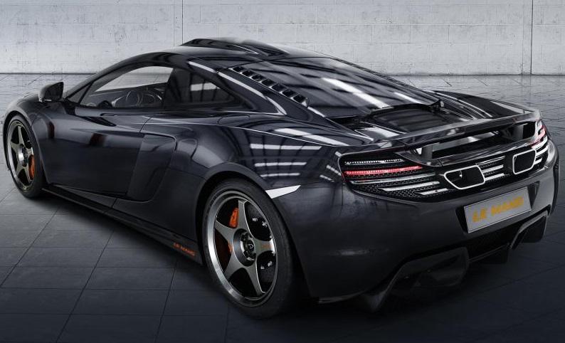 McLaren 650s  - spate