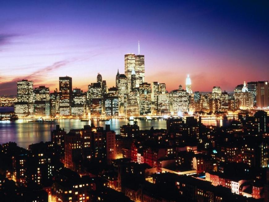 Apus de soare in New York