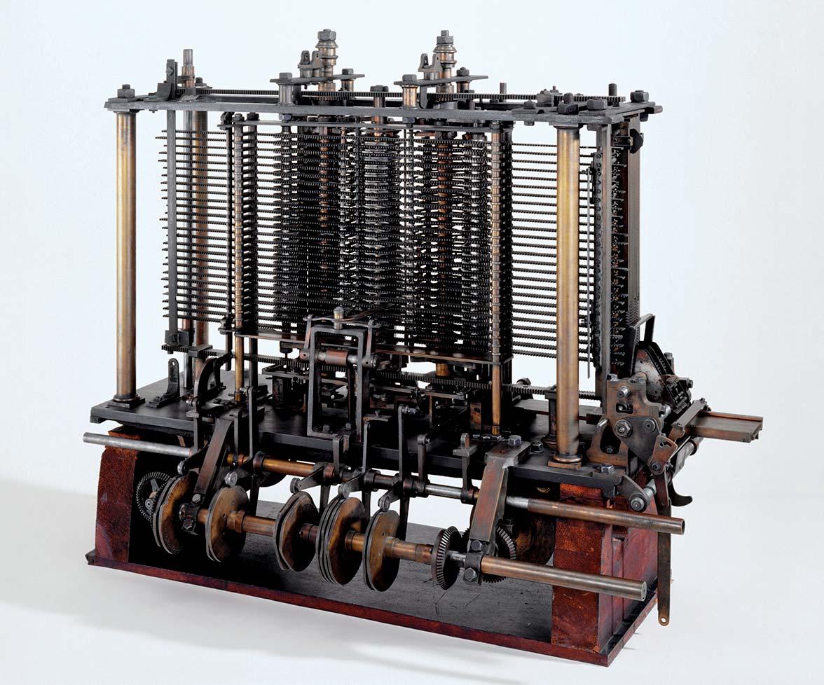 Masina de calcul - reconstituire
