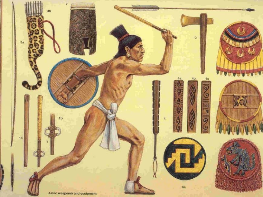 Razboinic Aztec