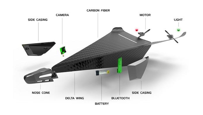 Carbon Flyer - componente