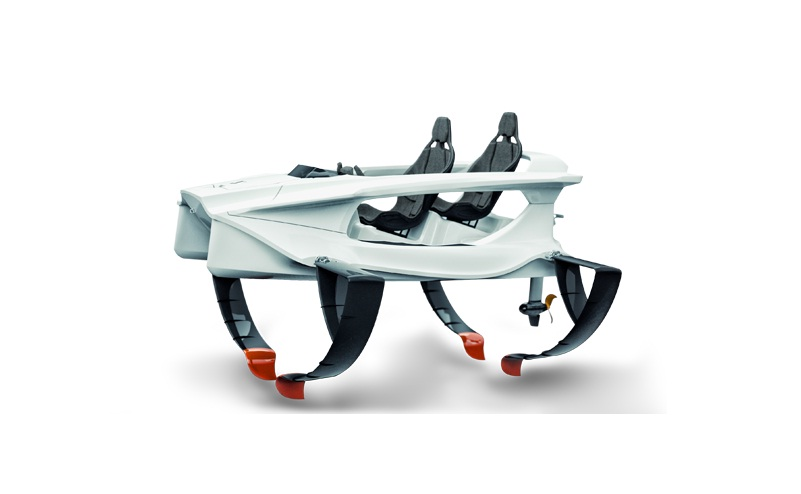 Quadrofoil o ambarcatiune science fiction