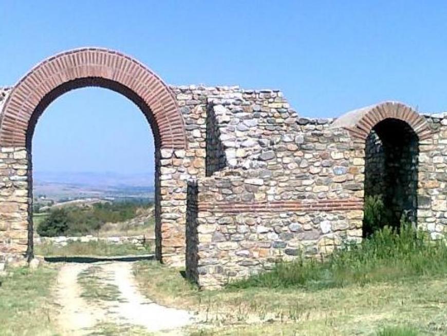 Poarta de intrare in orasul antic Bargala